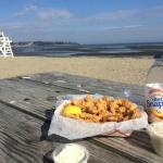 Westfair Clam Strips at Pequot Beach