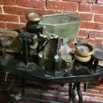 Historical equipment - a sealer/stamper.