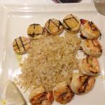 Matando a saudade do camarão grelhado! Maravilhoso!!!