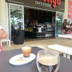 Delicious coffee and the club sandwich was also really tasty. This is the best place to stop and
