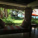 zona de descanso y wifi gratis tienes muchos sillones para poder descansar con unas vistas preci