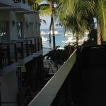 view from the second floor veranda