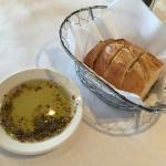 Complementary Bread and Olive Oil