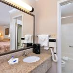 All our rooms feature spacious bathroom and vanity area.  All our bathrooms have full size tub