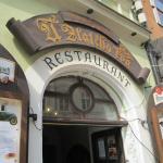 Entrance to the restaurant (ground floor)