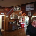 Interior is quaint and Australian looking.