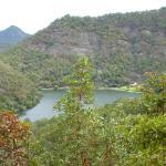 El lago desde las alturas