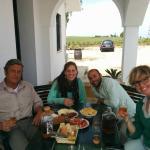 Lunch with Bustillo, Eduardo & Cecilia