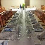 Comedor de Grupos. Cata de Vinos con cena degustación