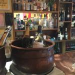 Bistrot Lepic copper tubs/bar
