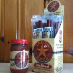 Reinneck Ranch Salsa Rose and Salsa Beef Sticks. Salsa Rose was a 1st place winner at the state