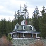 House at the end of the trail (1 of several buildings)