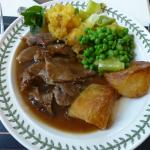 roast lamb from their own flock