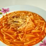 Sulu Yayım, Yayım Çorbası, Noodle Soup