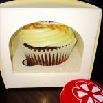 Yelp treat night - where I obtained my first ever Treat Boutique cupcake :-)