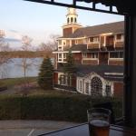 View from the bar in late April.