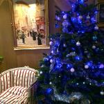 Le lobby à Noel