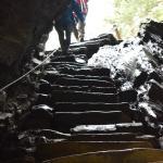 Slate stairs