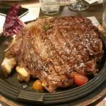 huge piece of meat