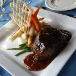 Famous Pepper Steak Flambe
