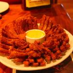 Bloomin' Onion, quite good! and Impressive!