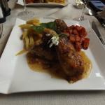 cuisse de poulet  sauce a la bière de Bouillon
