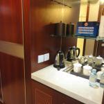 tea & coffee,free water daily