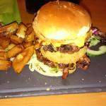 A new york tower burger. It beat me :(