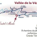 9 km sud de Montignac