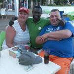 Samba... The best barman ever!