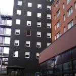 habitaciones vistas desde el restaurante próximo al hotel.
