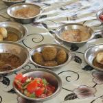 Nach dem Markt beim ägyptischen Frühstück