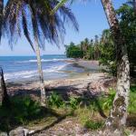 Playa Chiquita is a short walk away