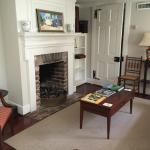 Sitting room, Carriage house.