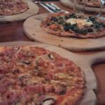 Selection of the pizzas