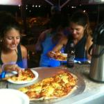 largest pizza on SXM