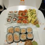Tatami Roll, Tamago Roll, New Sake Hosomaki & Teriyaki Roll