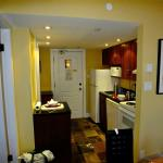 Kitchen of our one bedroom unit at The Marquise