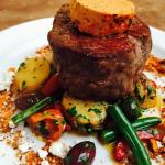 Eye Fillet, harissa butter