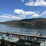 View of Lake George from Christie's patio