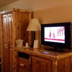 Nice TV, and cabinet