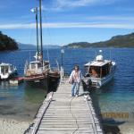 Embarcadero del hotel, se pueden realizar salidas de pesca o excursiones