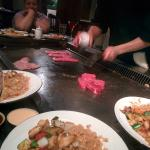Hibachi steak & filet mignon