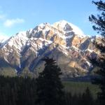 View from Patricia Lake Bungalows