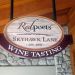 Skyhawk Lane and Red Poets Tasting Room, South Lake Tahoe, Ca