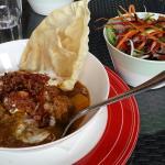 Lamb curry - delish!