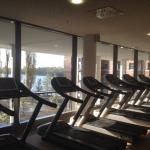 Fitness Bereich (Aussicht auf See)