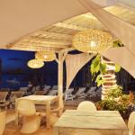Our restaurant at our private beach club