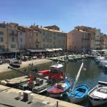 Sur le port de Saint-Tropez