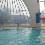 piscine couverte!
